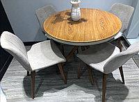 Комплект стола с комбинированной столешницей