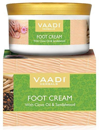 Крем для ног с маслом гвоздики и сандалом, 50 мл, Vaadi
