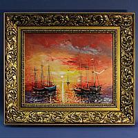 «Золотой закат на море» Nebojsa Velickovic