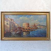 «Венецианская гавань» Henry Malfroy-Savigny (1895-1944)