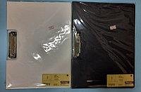 Папка-планшет с зажимом А4 белый/черный