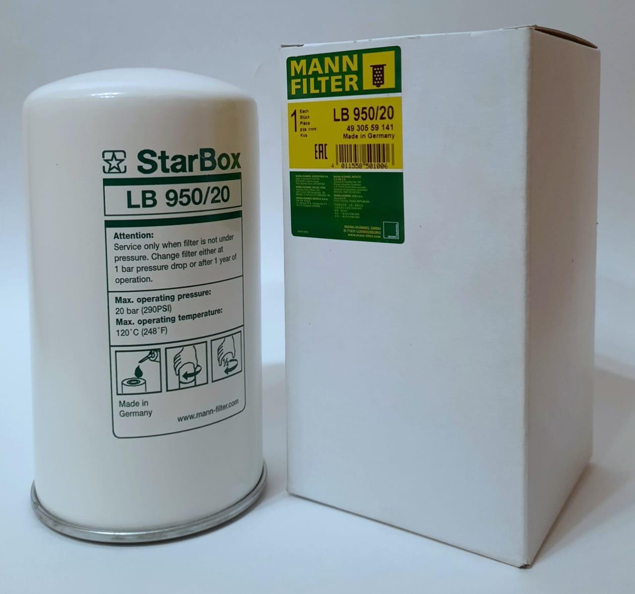 Сепаратор LB-950/20 Mann Filter