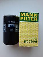 Фильтр масляный WD-724/6Mann Filter