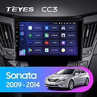 Автомагнитола Teyes CC3 3GB/32GB для Hyundai Sonata 2009-2014, фото 1