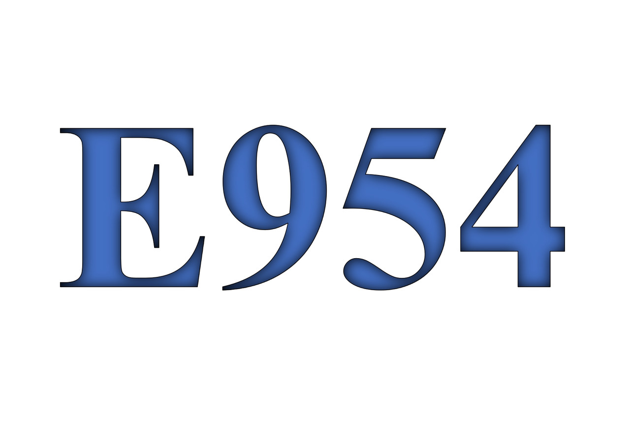 Сахарин натрия, Е954