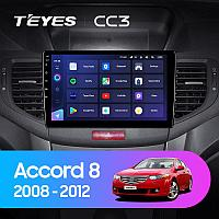 Автомагнитола Teyes CC3 3GB/32GB для Honda Accord 8 2008-2012