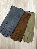 Мужские замшевые перчатки.
