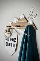Милая вешалка, держатель для хранения, настенная вешалка для вещей, органайзер, полка, подвесная