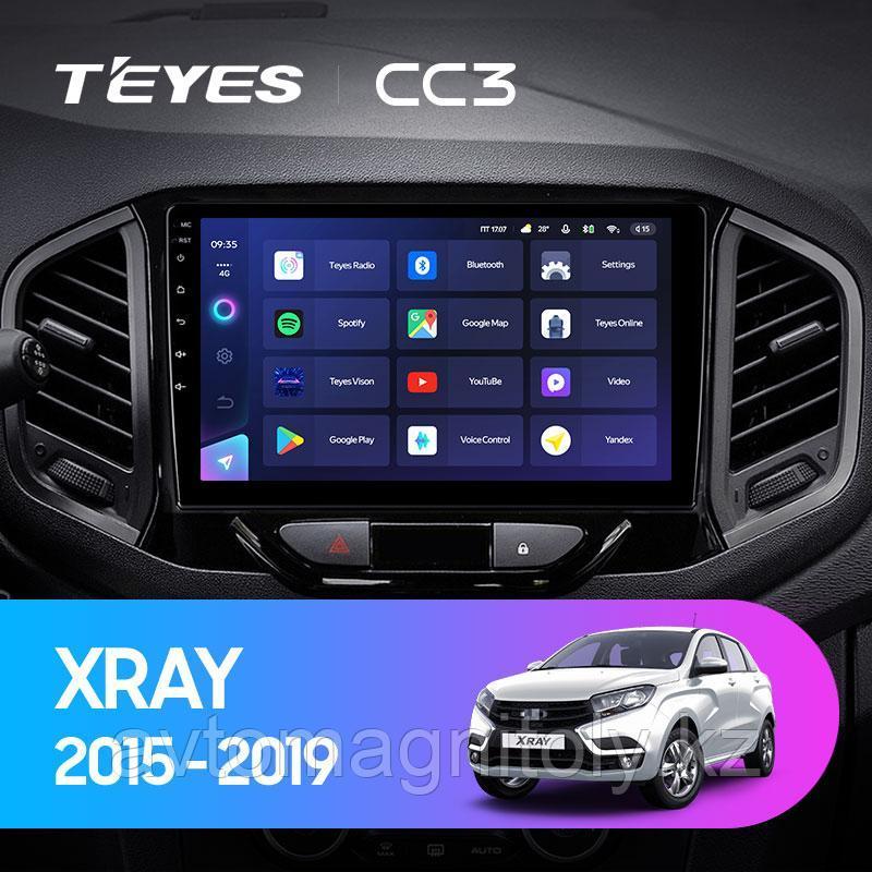 Автомагнитола Teyes CC3 3GB/32GB для Lada XRAY 2015-2019