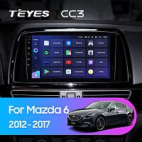 Автомагнитола Teyes CC3 3GB/32GB для Mazda 6 2012-2017