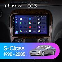 Автомагнитола Teyes CC3 3GB/32GB для Mercedes-Benz S-class W220 1998-2005