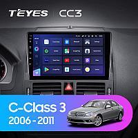 Автомагнитола Teyes CC3 3GB/32GB для Mercedes-Benz C-class 2006-2011
