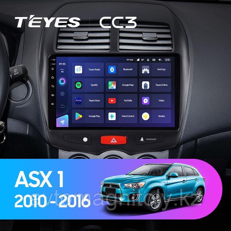Автомагнитола Teyes CC3 3GB/32GB для Mitsubishi ASX 2010-2016