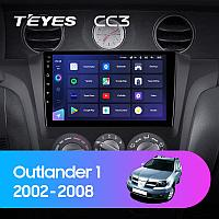 Автомагнитола Teyes CC3 3GB/32GB для Mitsubishi Outlander 2002-2008, фото 1