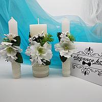 Свадебные свечи, Семейный очаг 3 шт