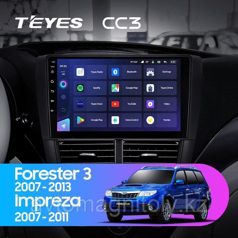 Автомагнитола Teyes CC3 3GB/32GB для Subaru Impreza 2007-2011