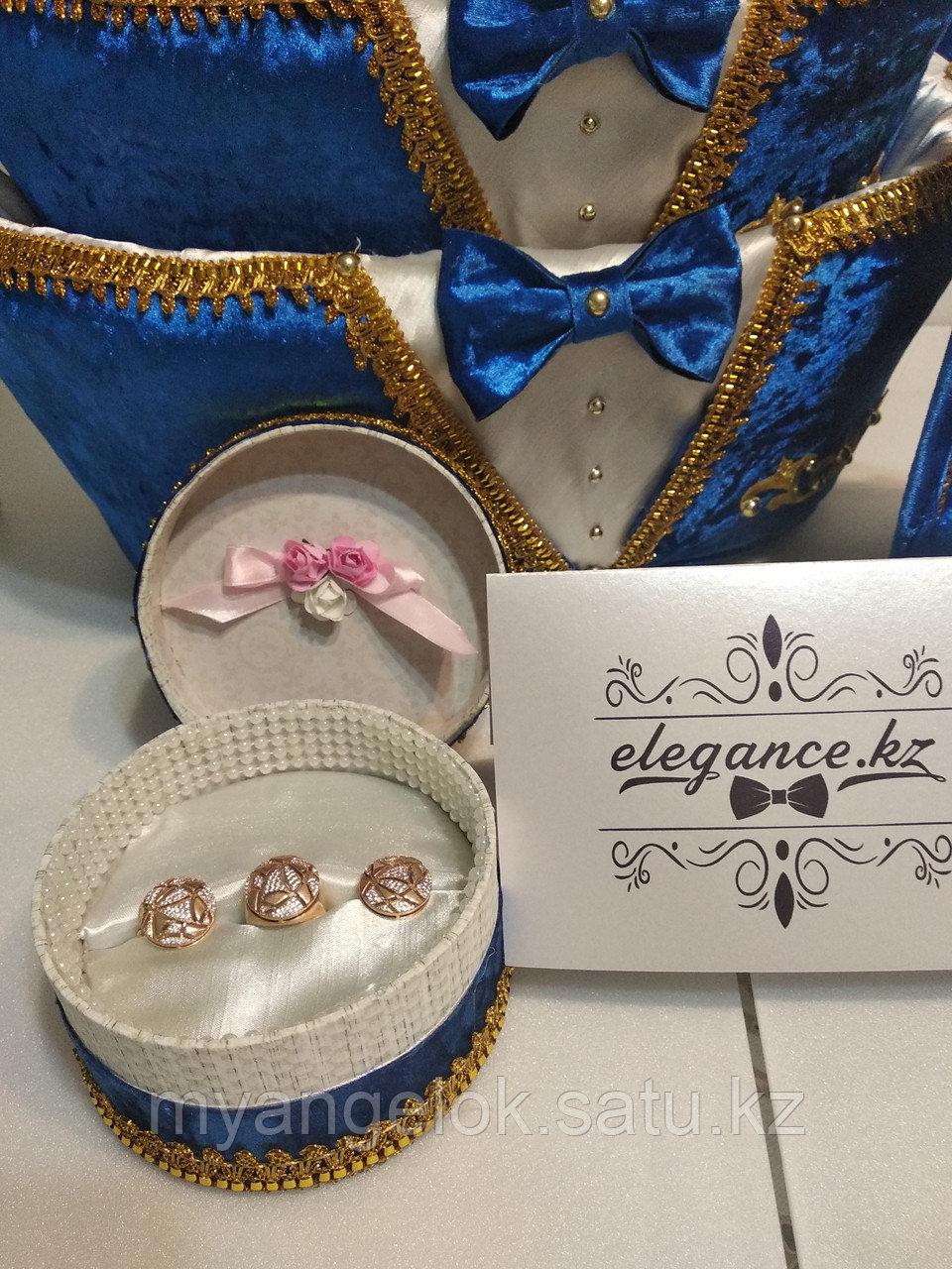 Коробка для свадебных колец - фото 3