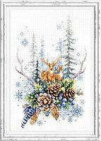 """Набор для вышивания крестом """"Дух зимнего леса"""", фото 1"""