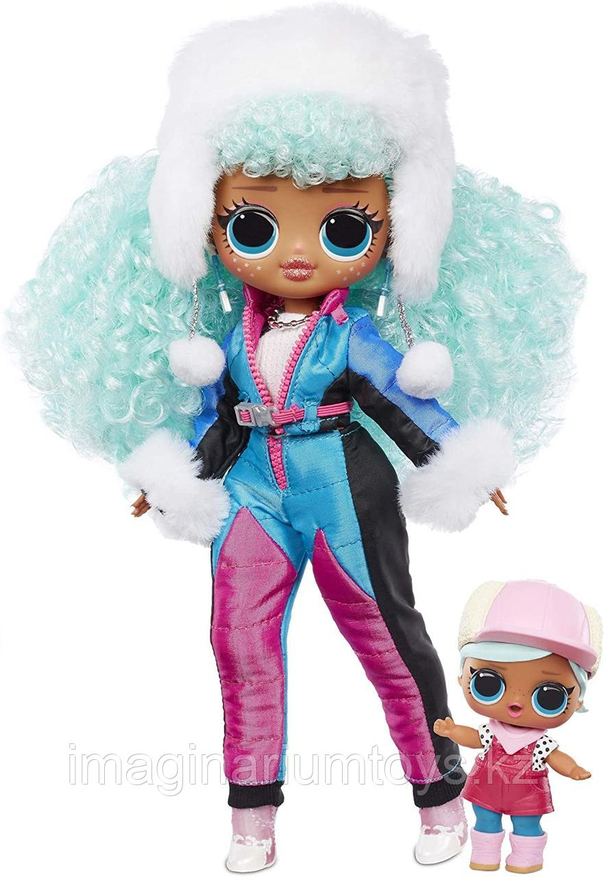 LOL OMG Winter Chill большая кукла ЛОЛ ICY Gurl и младшая сестра Brrr B.B. - фото 2