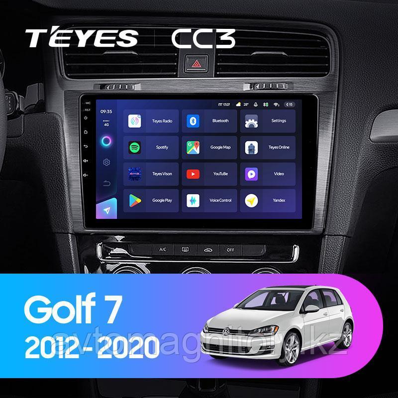Автомагнитола Teyes CC3 3GB/32GB для Volkswagen Golf 7 2012-2020
