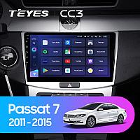 Автомагнитола Teyes CC3 3GB/32GB для Volkswagen Passat 2011-2015
