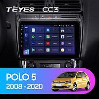 Автомагнитола Teyes CC3 3GB/32GB для Volkswagen Polo 2008-2020, фото 1