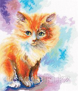 """Набор для вышивания крестом """"Солнечный котенок"""""""