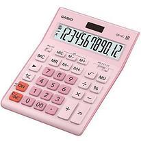 Калькулятор настольный CASIO GR-12C-PK-W-EP розовый