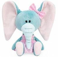Слониха Симба в розовом сарафане мягкая игрушка