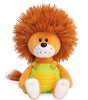 Львёнок Лью в комбинезоне с желтыми пуговицами мягкая игрушка