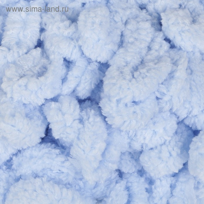 "Пряжа ""Puffy"" 100 % микрополиэстер 9м/100г (183 св. голубой) - фото 1"