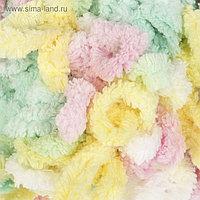 """Пряжа """"Puffy color"""" 100 % микрополиэстер 9м/100г (5862 разноцветный)"""