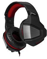 Игровые стереонаушники с микрофоном черный-красный SVEN AP-G890MV