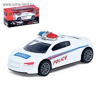 Машина металлическая «Полиция», масштаб 1:50 , инерция, МИКС