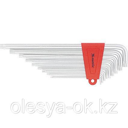 Ключи имбусовые TORX, 9 шт, T10-T50, MATRIX. 12307, фото 2