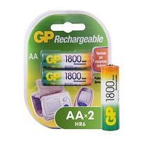 Аккумулятор GP AA NiMH R6 1800 mAh