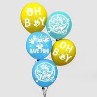 Воздушные шары 'Микки', Микки Маус (набор 5 шт) 12 дюйм
