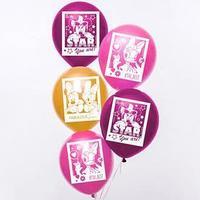 Воздушные шары 'Минни и Дейзи', Минни Маус (набор 5 шт) 12 дюйм