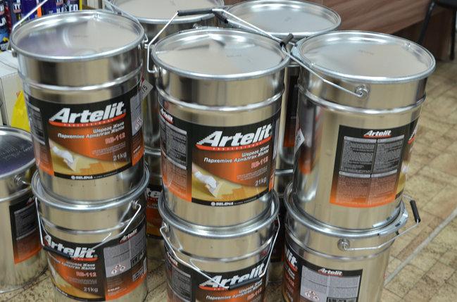 Клей ARTELIT каучуковый для паркета RB-112 (21 кг), фото 2