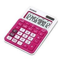 Калькулятор настольный, 12 разрядный, красный CASIO MS-20NC-RD-S-EC