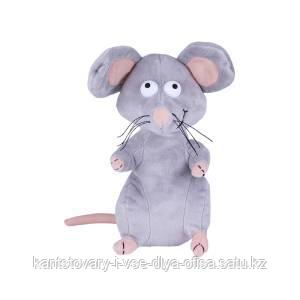 Мягкая игрушка Мышь, 21 см. Символ 2020 года.