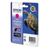 Картридж оригинальный Epson, T1573, пурпурный.