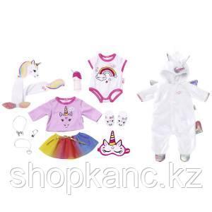 "Zapf Creation Baby born 826-201 Бэби Борн Набор одежды ""Сказочный Единорог"", 43 см"