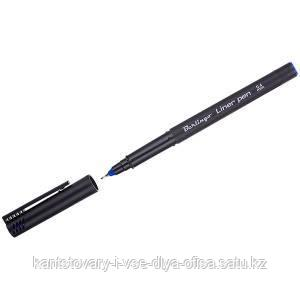 Ручка капиллярная, синяя, 0,4 мм.