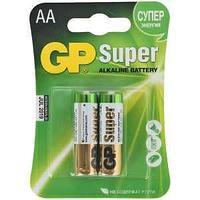 Батарейка Super Alkaline, LR06, AA, 1.5 V, 2 штуки в блистере.