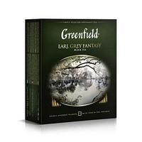 Чай Greenfield, Earl Grey Fantasy, чёрный, 2 гр. х 100 пакетов.