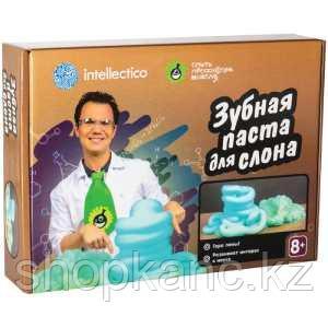 """Набор для опытов Intellectico """"Опыты профессора Николя. Зубная паста для слона"""""""