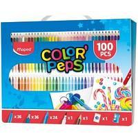 """Набор для рисования Maped """"Color'Peps Kit 100"""" ,100 предметов"""