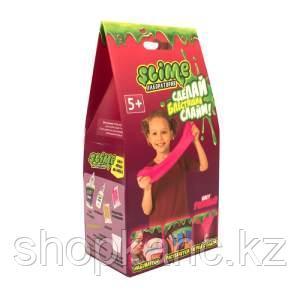 """Набор для создания слайма Slime """"Лаборатория"""", для девочек, розовый, 100 г"""