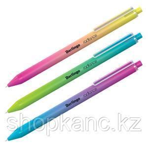 """Ручка шариковая автоматическая Berlingo """"Radiance"""", 0,7мм, синяя, корпус ассорти"""